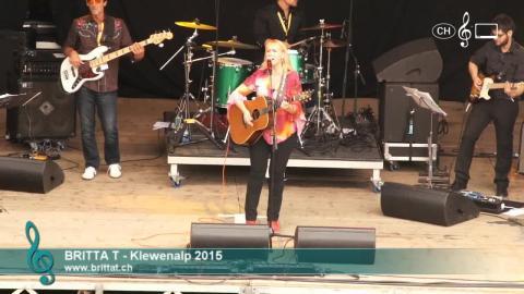 Britta T. - Live at Klewenalp (1)