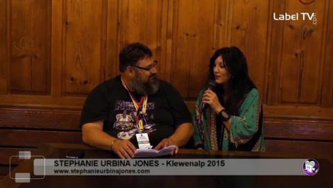 Stephanie Urbina Jones - Interview at Klewenalp 2015