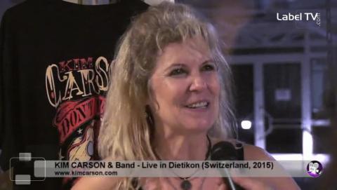 Kim Carson - Interview in Dietikon (CH, 2015)